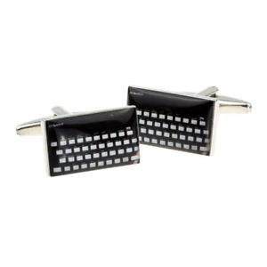 【送料無料】メンズアクセサリ― レトロボックス×コンピュータキーボードretro computer keyboard in a cufflink box x2bocr017