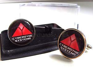 【送料無料】メンズアクセサリ― ターミネータシステムジョイントベンチャーバッジメンズカフスボタンterminator cyberdyne systems skynet badge mens cufflinks gift