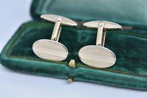 【送料無料】メンズアクセサリ― ビンテージスターリングシルバーアールデコデザインカフリンクスvintage sterling silver cufflinks with an art deco design g188