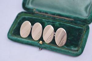 【送料無料】メンズアクセサリ― ビンテージスターリングシルバーアールデコデザインカフリンクスvintage sterling silver cufflinks with an art deco design b730
