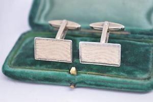 【送料無料】メンズアクセサリ― ビンテージスターリングシルバーアールデコデザインカフリンクスvintage sterling silver cufflinks with an art deco design b819
