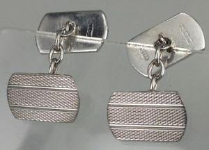 【送料無料】メンズアクセサリ― ソリッドシルバーカフスボタンシルバーギョーシェデザインsolid silver cufflinks guilloche silver pattern design