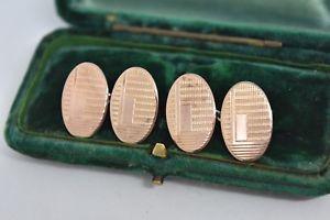 【送料無料】メンズアクセサリ― ビンテージスターリングシルバーアールデコデザインカフリンクスvintage sterling silver cufflinks with an art deco design g223