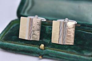 【送料無料】メンズアクセサリ― ビンテージスターリングシルバーアールデコデザインカフリンクスvintage sterling silver cufflinks with an art deco design g171