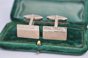 【送料無料】メンズアクセサリ― ビンテージスターリングシルバーアールデコデザインカフリンクスvintage sterling silver cufflinks with an art deco design b799