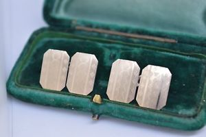 【送料無料】メンズアクセサリ― ビンテージスターリングシルバーアールデコデザイングリフカフスボタンvintage sterling silver cufflinks with an art deco design h griff amp; sons b451