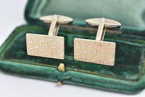 【送料無料】メンズアクセサリ― ビンテージスターリングシルバーアールデコデザインカフリンクスvintage sterling silver cufflinks with an art deco design g93
