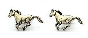 【送料無料】メンズアクセサリ― ポニーカフスボタンピューターハンドメイドボックスhorse pony cufflinks pewter uk hand made gift boxed or pouched quantity discount
