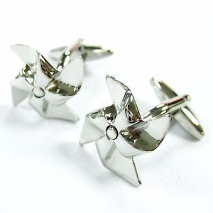 【送料無料】メンズアクセサリ― カフスボタンカフリンクworking pinwheel cufflinks toys cuff links it rotates gemelos 70 for 7 items
