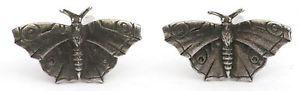 【送料無料】メンズアクセサリ― カフリンクスピューターイギリスハンドメイドボックスbutterfly cufflinks pewter uk hand made gift boxed or pouched quantity discount