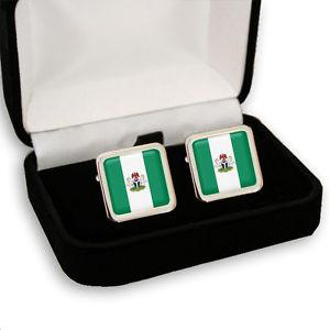 【送料無料】メンズアクセサリ― ナイジェリアメンズカフスボタンナイジェリアコートnigeria nigerian flag coat of arms mens cufflinks gift engraving