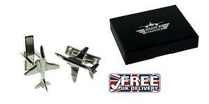 【送料無料】メンズアクセサリ― ピューターホークジェットカフスボタンボックスenglish pewter hawk jet aeroplane cufflinks gift box xdcl008 xb0781p