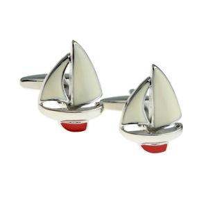 【送料無料】メンズアクセサリ― キールヨットセーリングカフスボタン×red keel yacht sailing sailors cufflinks x2nyu016