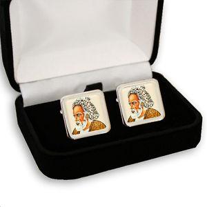 【送料無料】メンズアクセサリ― ペルシャメンズカフスボタンボックスomar khayyam persian poet men's cufflinks gift box engraving