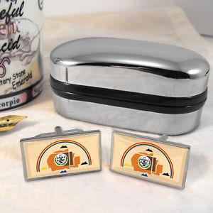 【送料無料】メンズアクセサリ― ナバホカフスボタンボックスnavajo nation flag cufflinks amp; box