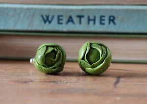 【送料無料】メンズアクセサリ― キャベツカフスボタンクリスマスby the shed brussels sprouts cufflinks christmas, dad gift, festive