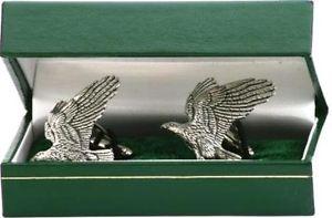 【送料無料】メンズアクセサリ― イーグルホークカフリンクス eagle hawk cufflinks birthday fathers falconry gift