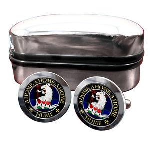 【送料無料】メンズアクセサリ― ヒュームスコットランドカフリンクスボックスhume scottish clan crest cufflinks amp; box