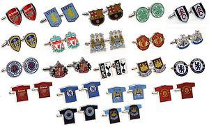 【送料無料】メンズアクセサリ― フットボールクラブカフスボタンクレストシャツicial football club cufflinks crest amp; shirt shaped free uk delivery