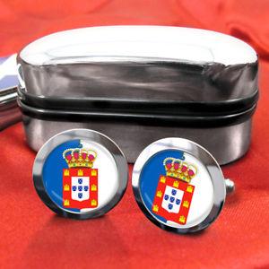 【送料無料】メンズアクセサリ― ポルトガルメンズカフスボタンイギリスkingdom of portugal mens gift cufflinks