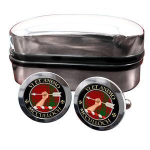 【送料無料】メンズアクセサリ― スコットランドカフリンクスボックスmcculloch scottish clan crest cufflinks amp; box