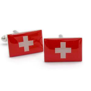 【送料無料】メンズアクセサリ― スイススイスカフスボタン