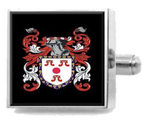 【送料無料】メンズアクセサリ― イギリスカフスボタンボックスramsbell england heraldry crest sterling silver cufflinks engraved box