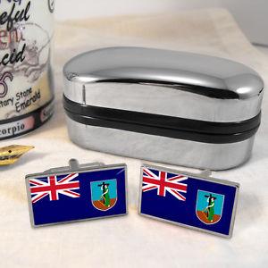 【送料無料】メンズアクセサリ― フラグカフスボタンボックスmontserrat flag cufflinks amp; box
