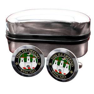 【送料無料】メンズアクセサリ― スコットランドカフリンクスボックスkincaid scottish clan crest cufflinks amp; box