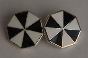 【送料無料】メンズアクセサリ― スターリングシルバーエナメルカフリンクスsterling silver enameled cufflinks