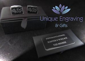 【送料無料】メンズアクセサリ― パーソナライズテキストロゴカフリンクスボックスクリスマスpersonalised phototextlogo engraved cuff links inc gift box christmas gift
