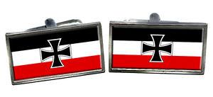 【送料無料】メンズアクセサリ― ドイツカフスボタンボックスgerman naval flag cufflinks amp; box