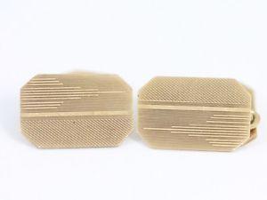 【送料無料】メンズアクセサリ― カフスボタンゴールドヴィンテージフォーマルドレスソリッドgents cufflinks 9ct gold vintage formal dress solid 375 f53
