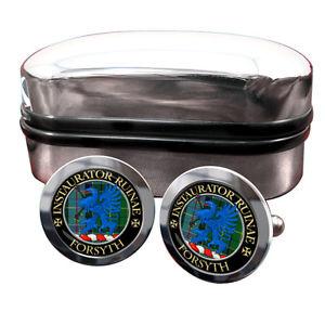 【送料無料】メンズアクセサリ― フォーサイススコットランドカフリンクスボックスforsyth scottish clan crest cufflinks amp; box