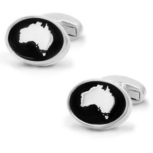 【送料無料】メンズアクセサリ― エナメルカフスボタンオーストラリア