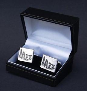 【送料無料】メンズアクセサリ― ジャズカフスボタンカフリンクスボックスノベルティポストjazz cufflinks music cuff links free gift box novelty free uk post