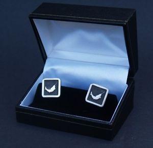 【送料無料】メンズアクセサリ― カフスボタンピューターノベルティーカフリンクポストfishing cufflinks fine english pewter gift novelty boxed cuff links free uk post