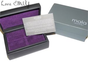 【送料無料】メンズアクセサリ― ¥ボックスメンズ rrp 22 mala leather cufflink box gift boxed mens gift genuine leather