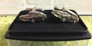 【送料無料】メンズアクセサリ― ビンテージカーカフリンクスvintage car cufflinks
