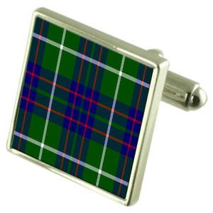 【送料無料】メンズアクセサリ― タータンチェックマッキンタイアカフスボタンボックスtartan clan macintyre sterling silver cufflinks engraved box
