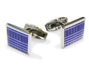 【送料無料】メンズアクセサリ― パターンmensカフスリンクセットpurple tartan pattern square mens cufflink gift set novelty