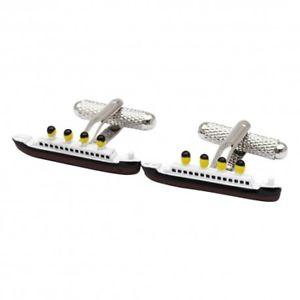 【送料無料】メンズアクセサリ― タイタニックカフスボタンカフリンクスtitanic cufflinks ship cufflinks