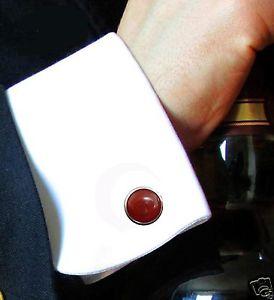 【送料無料】メンズアクセサリ― カフスボタンクラシックカネプロジェクトmens elegant cufflinks classic beautiful 14 mm carnelian  projects agains gift