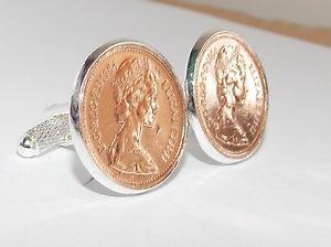 【送料無料】メンズアクセサリ― カフリンクス1992 wedding anniversary birthday cufflinks for a 26th bthday