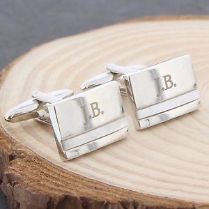 【送料無料】メンズアクセサリ― パーソナライズメンズカフスボタンセットデザインオプションケースpersonalised engraved mens cufflinks sets, 16 designs, optional engraved case