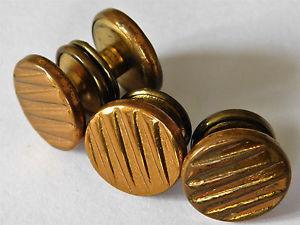 【送料無料】メンズアクセサリ― スナップカフリンクスアールデコパターンライオンブランドメンズアクセサリーridged snap cufflinks art deco pattern lion brand english mens accessories e