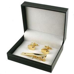 【送料無料】メンズアクセサリ― ルビーゴールドカフスボタンセットカフスボタンラグビーゴールドタイバーセットcufflinks for men gift set ruby gold cufflinks amp; rugby gold tie bar gift set