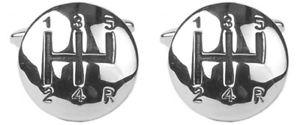 【送料無料】メンズアクセサリ― シフトレバーカフリンクスnovelty gear lever cufflinks