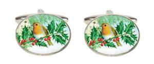 【送料無料】メンズアクセサリ― ノベルティーロビンカフリンクスnovelty robin cufflinks
