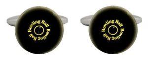 【送料無料】メンズアクセサリ― ボウリングボールカフリンクスnovelty bowling ball cufflinks